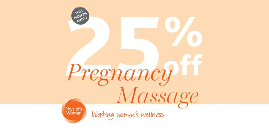 25% Off Pregnancy Massage!