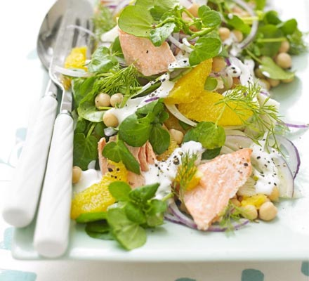 Salmon and Orange Salad